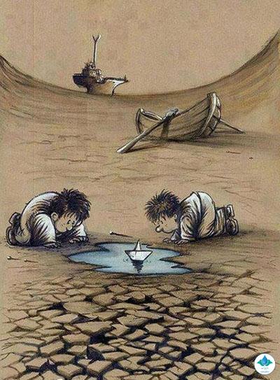 بحران کمبود آب